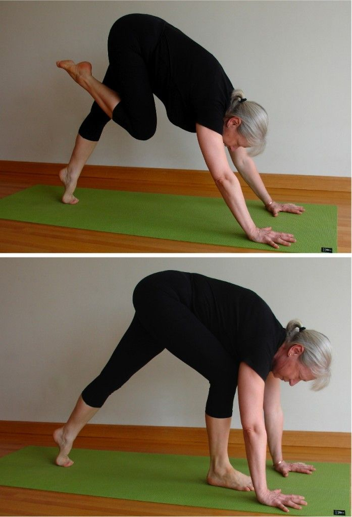 Tight hips make it a difficult transition from downward dog through to a lunge..this will help