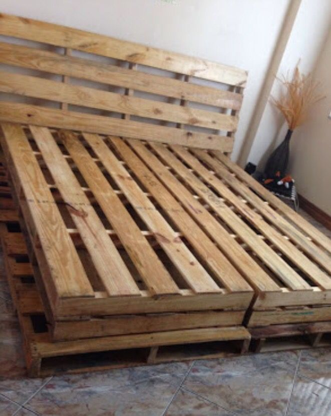 30 best Wooden Crates Pallet Furniture images on Pinterest