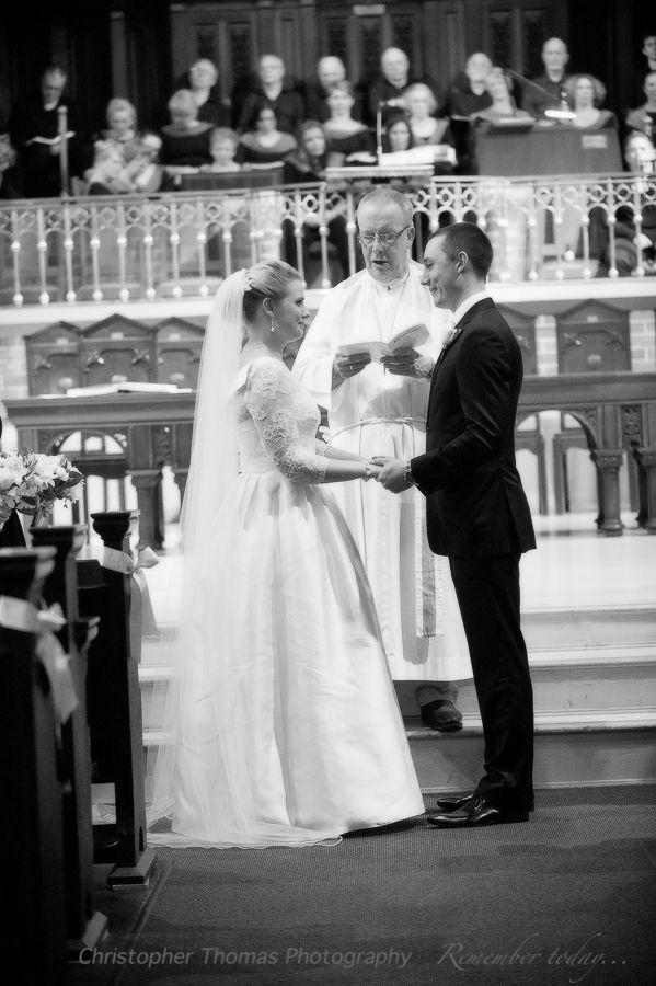 Brisbane Wedding Photographers - wedding ceremony at St Andrew, Christopher Thomas Photography