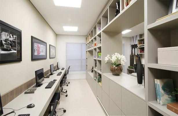 Advocacia - Sala do staff