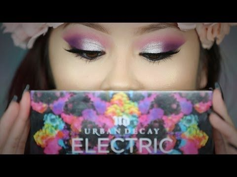 Urban Decay Electric Palette Look - YouTube
