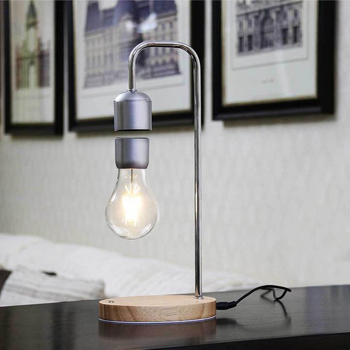 Levitating Floating Magenet Light Bulb Invisibletech Lamp Desk Lamp Floating Lights