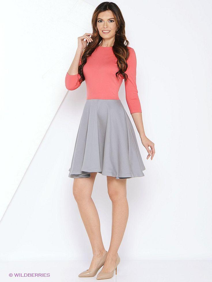 Платье MARBI. Цвет розовый.