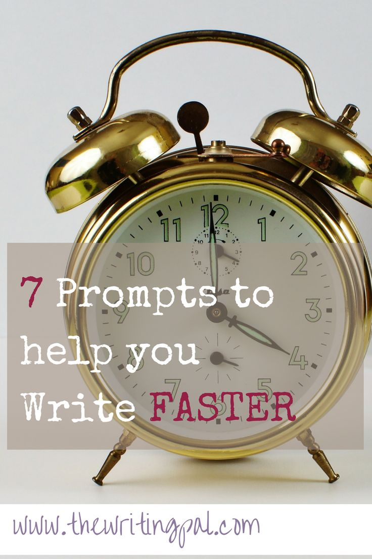 Writing faster is an important skill for every busy writer. Writing prompts and practice are the key to learn the art of writing faster.