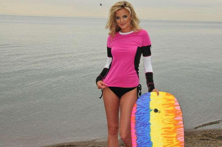 The Olivia Long Sleeve Crew - UV Couture www.uvcouture.com   Upf 50   #smartmeetssexy