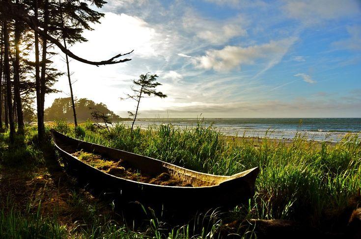 Photo by Guy Kimola.  Canoe.