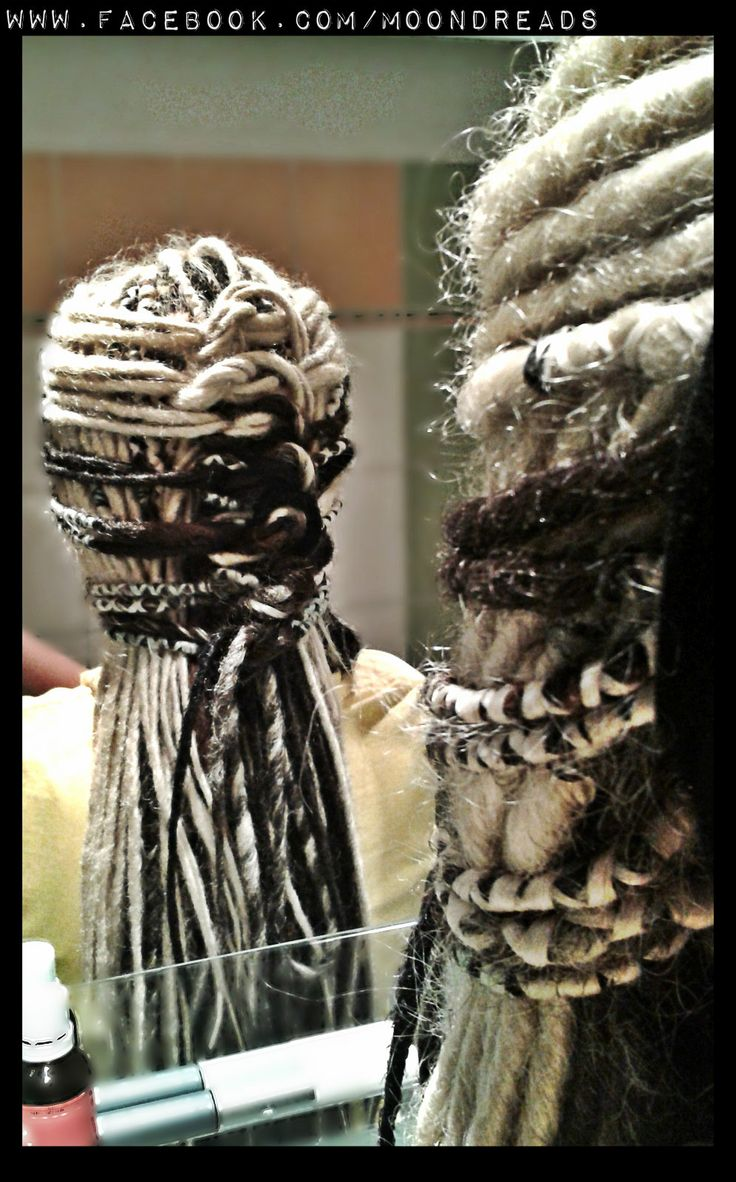 Synthetic dreads, wish I could keep them in longer then 4 days lol