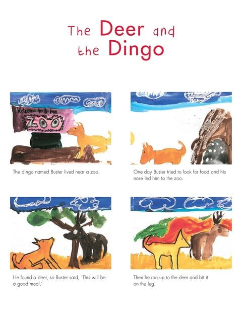 Page 1: The Deer and the Dingo by Michael Ashwin