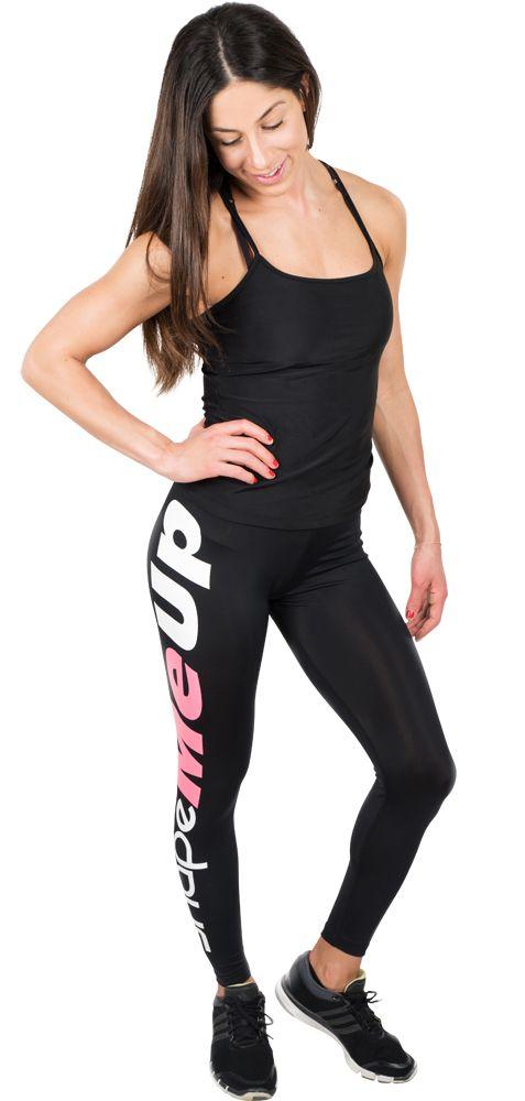 Sv: byShapemeup logo tights En: byShapemeup logo tights