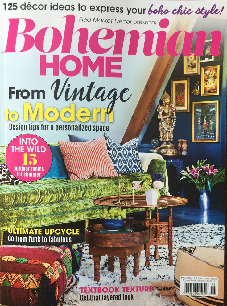 Bohemian Home Magazine — We Are In Our Element | Bohemian ...