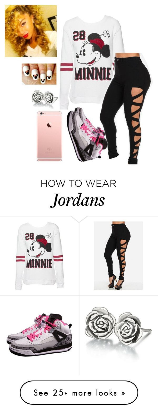"""Untitled #1501"" by lylydenisegaston on Polyvore featuring Disney, NIKE, Chamilia, women's clothing, women's fashion, women, female, woman, misses and juniors"