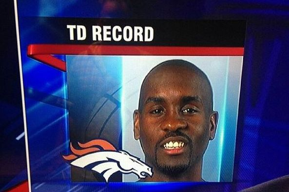 Denver Broncos news, rumors and more | Bleacher Report T.V. 4 in Denver thought that Gary Payton had broken the T.D. Record!  LMAO!  I bet their face was red!