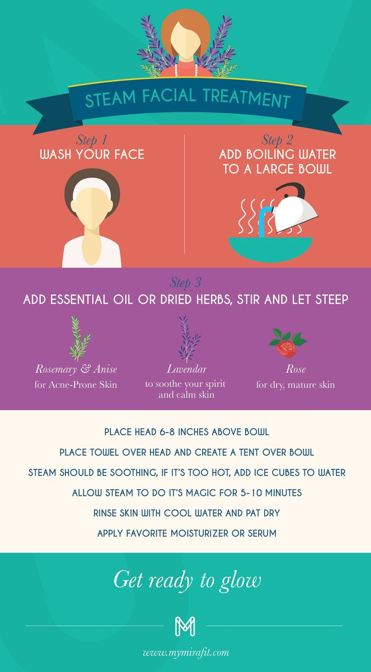 Get clearer, brighter and firmer skin at home with this simple DIY facial steam treatment.