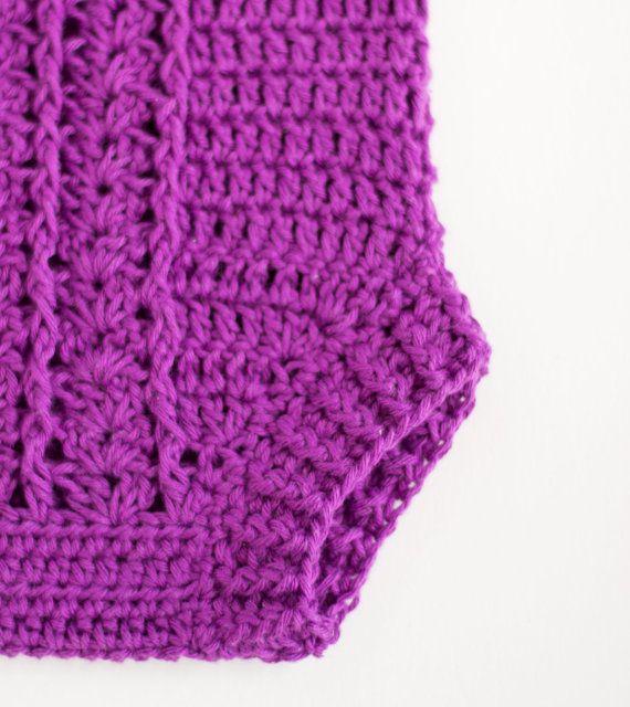 Crochet Pattern Crochet Baby Romper Pattern By