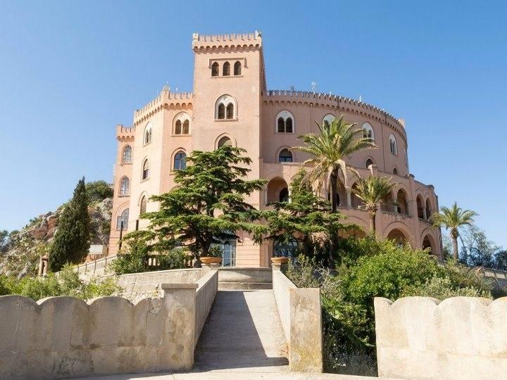 Castello Utveggio posizionato su Montepellegrino a Palermo
