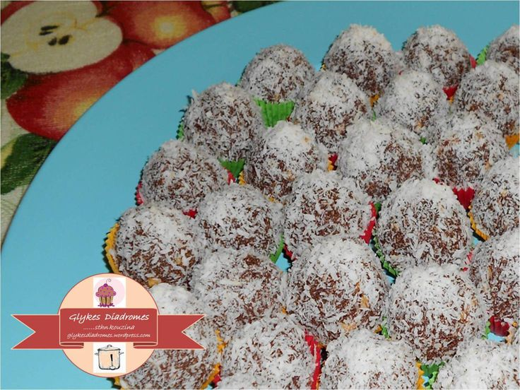 Sweet lenten bites - treats / glykesdiadromes.wordpress.com