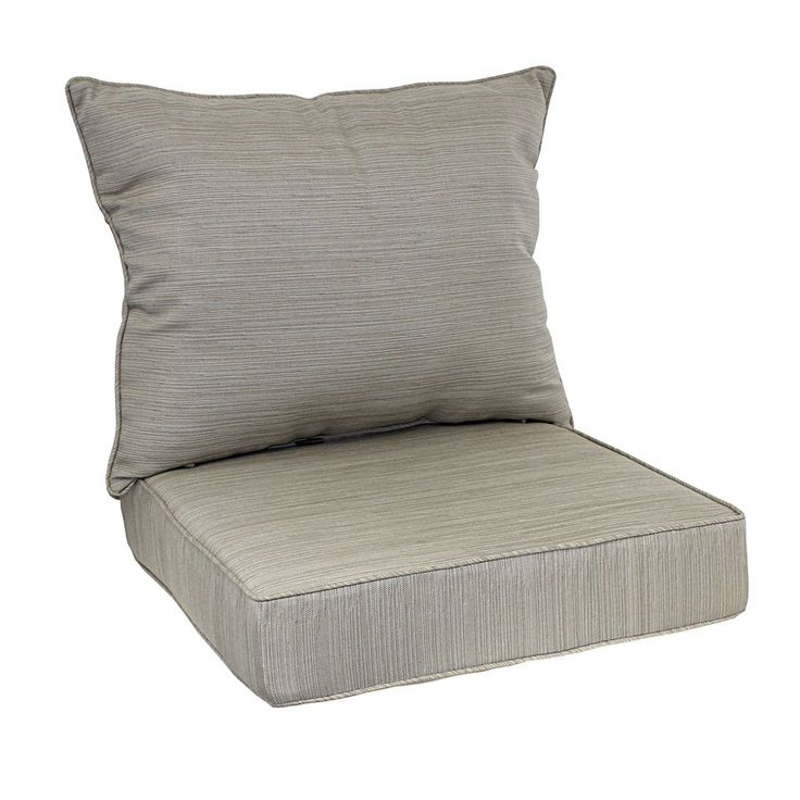 allen + roth 2-Piece Natural Deep Seating Chair Cushion Set - 17 Best Images About Patio Ideas On Pinterest Canada, Coral