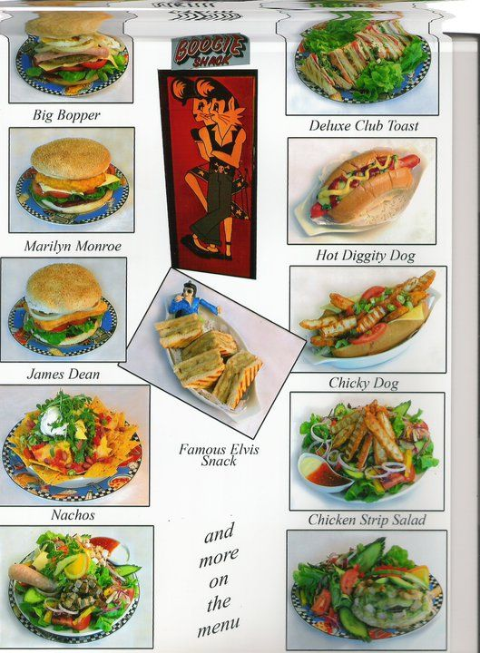 Meals Menu