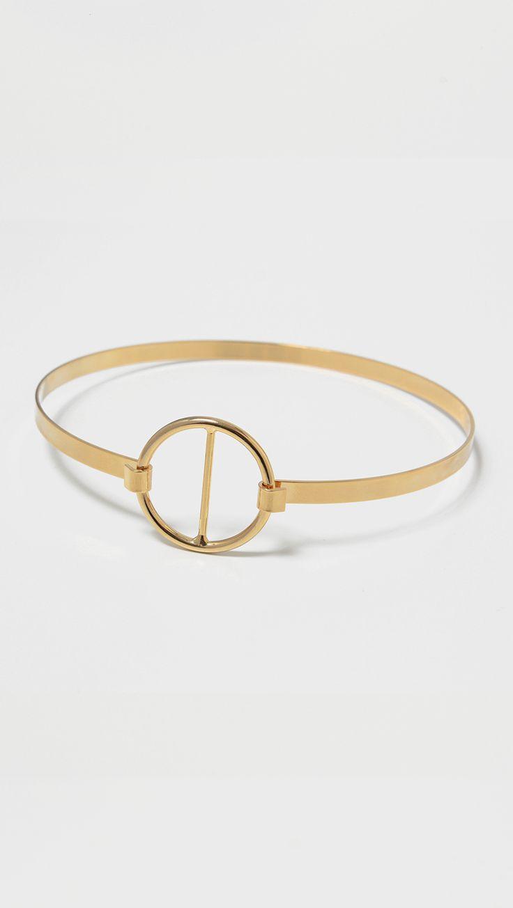 Mia Gold Choker   LOÉIL #gold #choker #minimal #jewelry