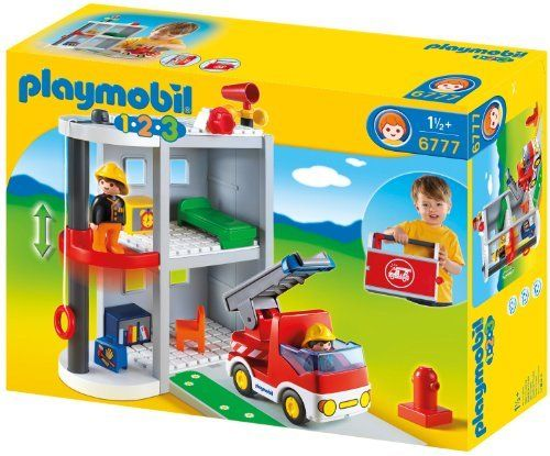 Playmobil - 6777 - Jeu de Construction - Caserne de Pompiers de Playmobil, http://www.amazon.fr/dp/B0077QT11O/ref=cm_sw_r_pi_dp_lt-Csb0BN38JY