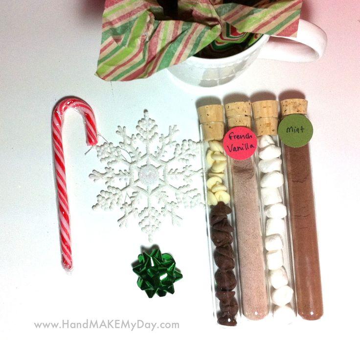 Thrifty Homemade Hot Chocolate Christmas Gift | Hand Make My Day