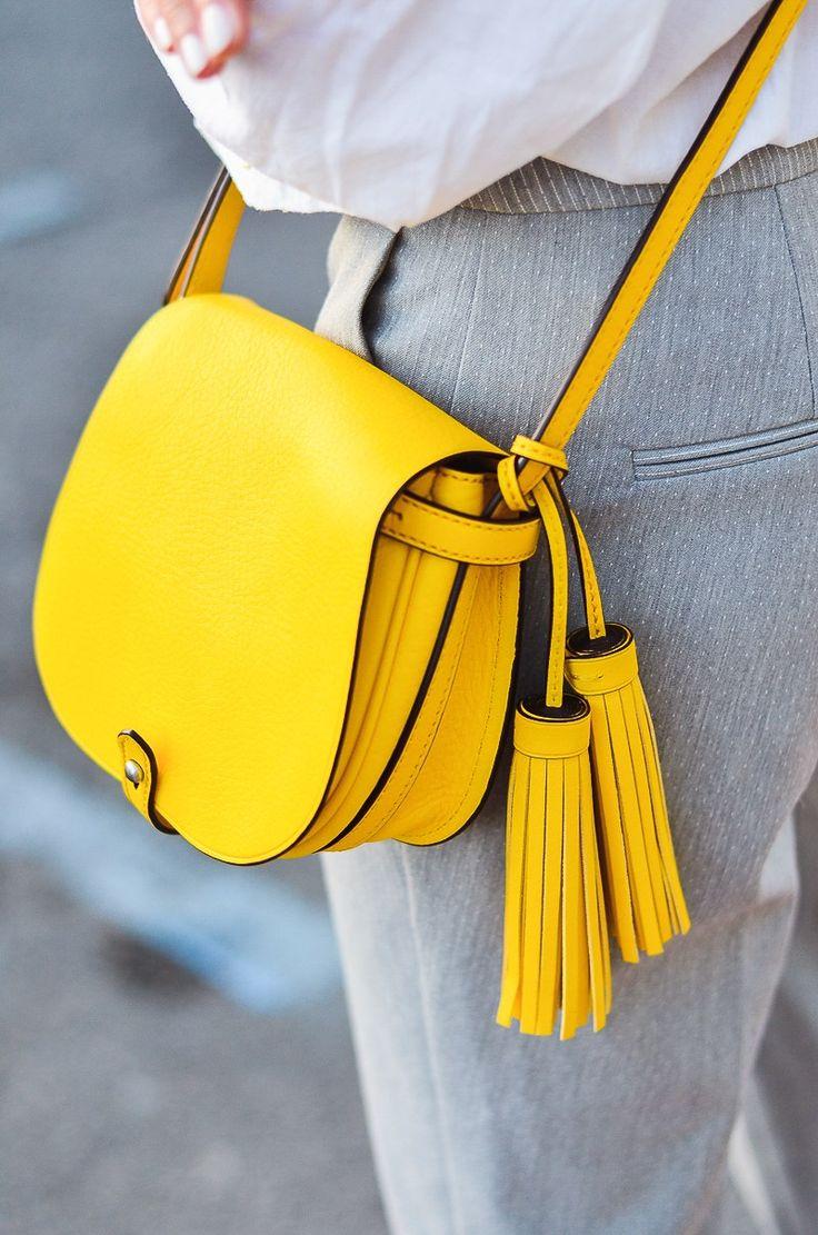 Eye-catcher yellow bag ☀️Ralph Lauren bag
