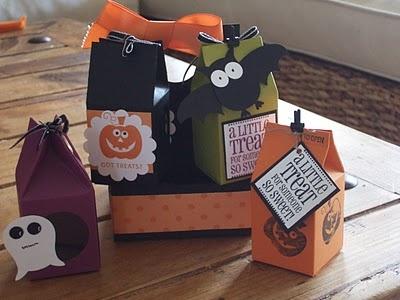 su milk carton halloween treat box and carrier - Halloween Cartons