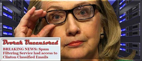 Tech Blogger: Mrs. Clinton Was Not Master of Her Domain, Spam-Filtering Service Had Access to E-Mails - The Rush Limbaugh Show