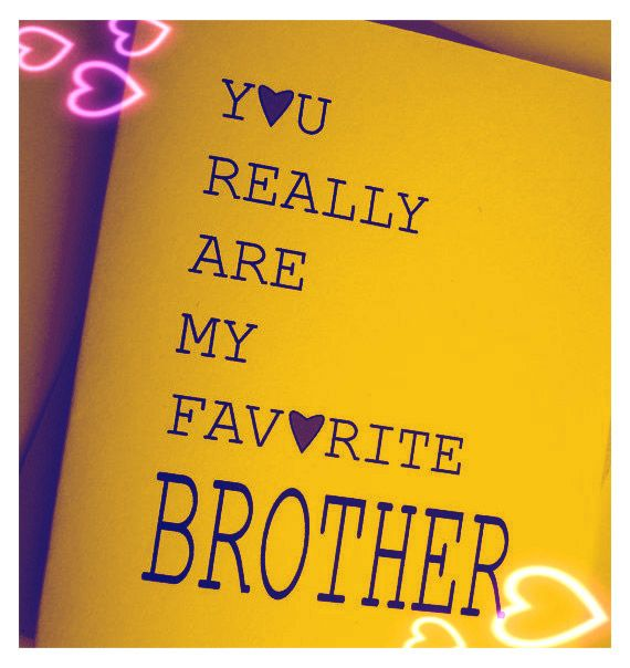 I love my #brother
