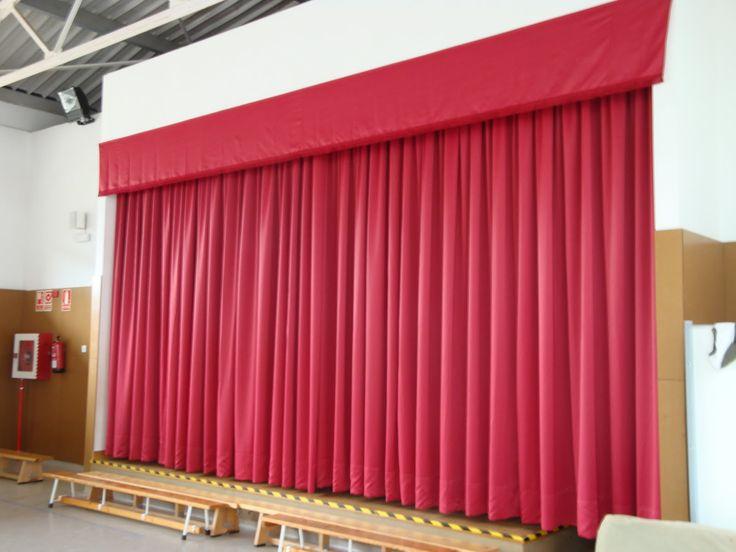 Cortinas para teatro cortinas pinterest cortinas - Cortinas para escenarios ...