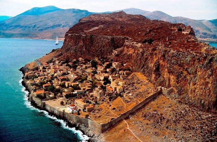 Monevasia Greece George's village.