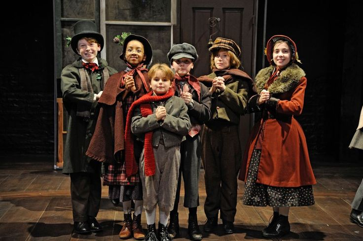 "... Broomfield as carolers in ""A Christmas Carol,"" at Trinity Rep"