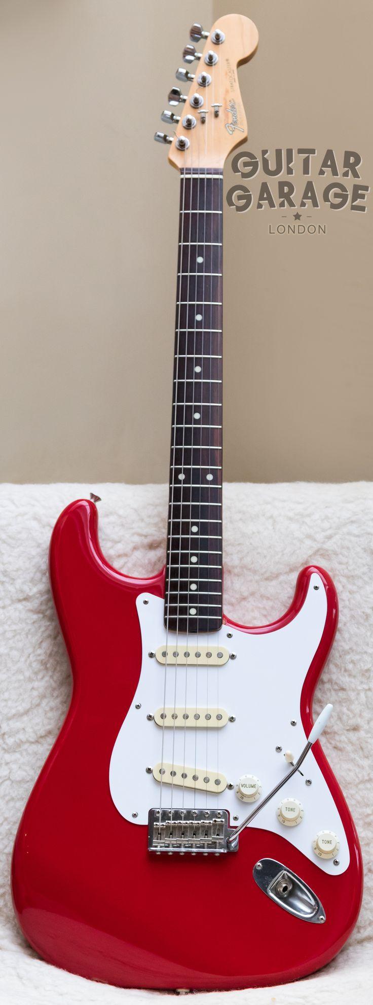 1988 Fender Japan 62 Vintage Reissue Stratocaster Torino Red