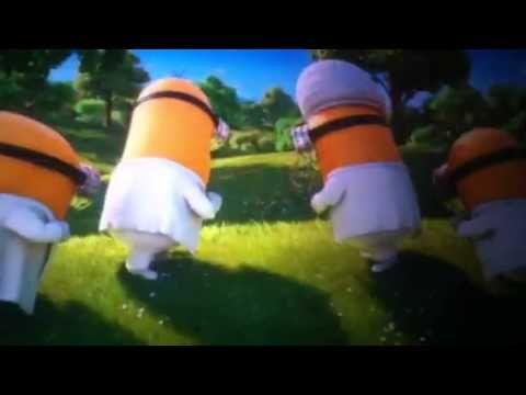 Minions singing I swear