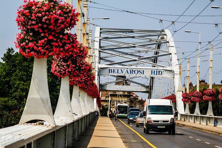 """Belvárosi"" (Downtown) Bridge 1# | by Juhasz_Attila"