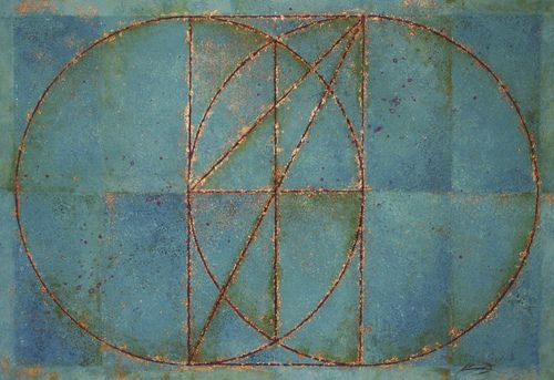 geometryofdopeness:    VESICA PISCIS WITH SQUARE ROOT OF 2, 3, 5