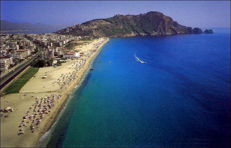 Cleopatra Beach at Alanya, Turkey