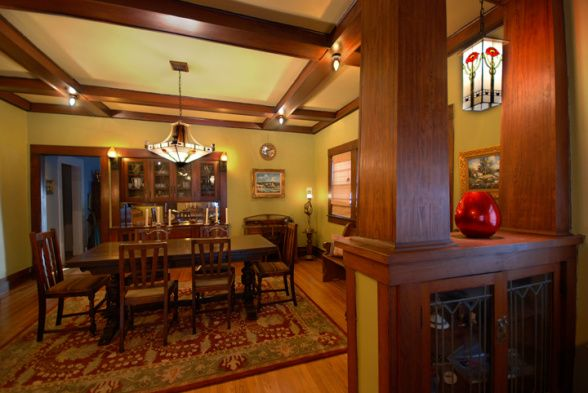 17 best images about arts crafts craftsman frank lloyd - Arts and crafts bungalow interiors ...