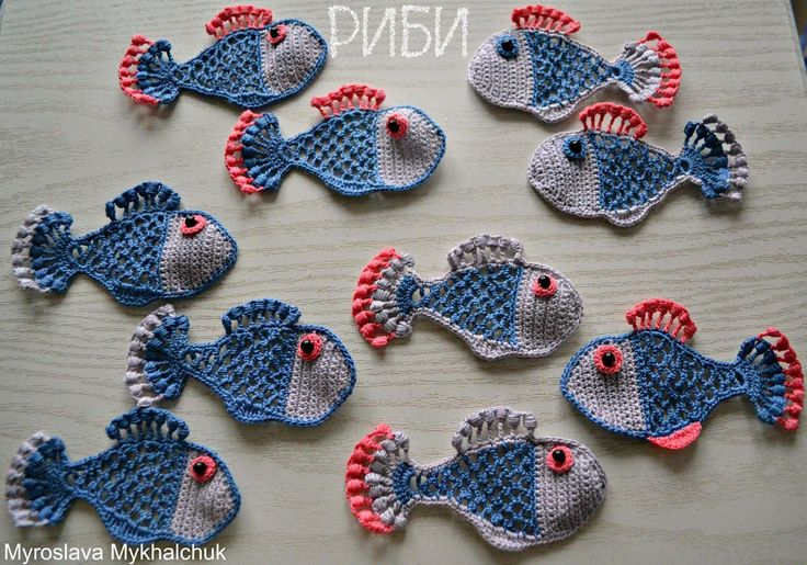 Mастер Мирослава Михальчук. Sea motifs. Морские мотивы. Motivy moře. Irish Crochet. Motifs. Freeform ideas. Цветочные мотивы ирландского кружева, фриформ и идеи.