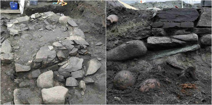 A team of Norwegian archaeologists believes they have discovered the remains of a 1,000-year-old church that once served as the final resting place for one