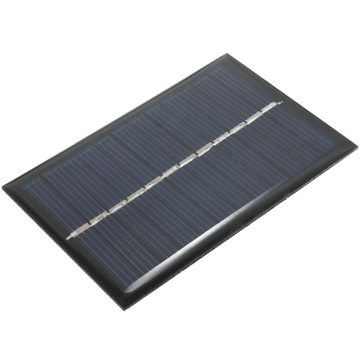 6V 0.6W 100mAh Polycrystalline Silicon Epoxy Solar Panels Module kits Mini Solar Cells For Small Power Appliances 90x60mm