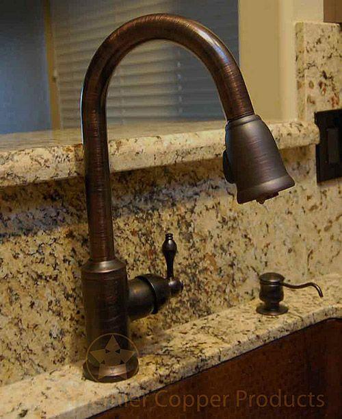 17 Best ideas about Copper Kitchen Faucets on Pinterest