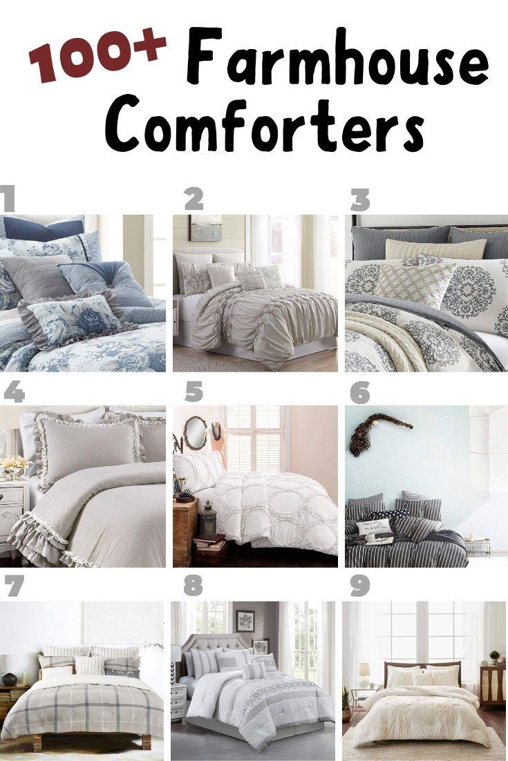100 Farmhouse Comforters And Rustic Comforters Farmhouse Bedding Sets Rustic Comforter Farmhouse Bedroom Decor