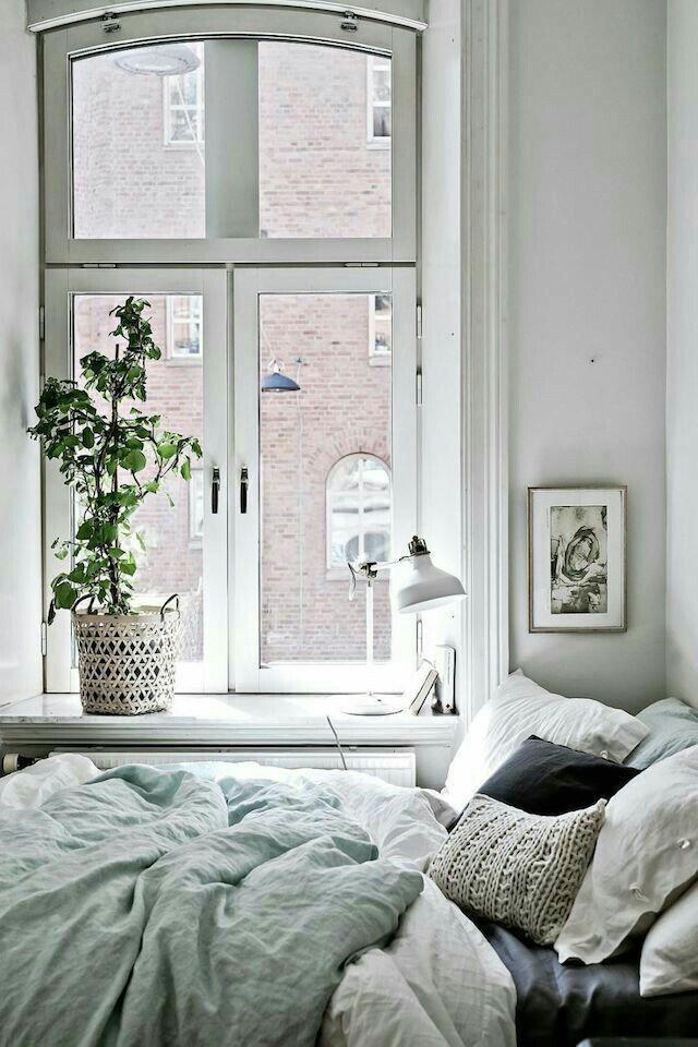 Calm, comfortable, peaceful.