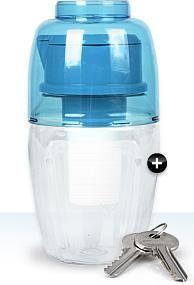 H2Go Waterman Pitcher Alkaline Water Ionizer - Portable Travel Alkalizer