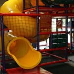 Our huge play area was carefully designed with see-through panels, netting, webbed areas and parent walk-unders to not only insure that kids have fun, but keeping a parental view in mind by allowing for a watchful eye of your little one.