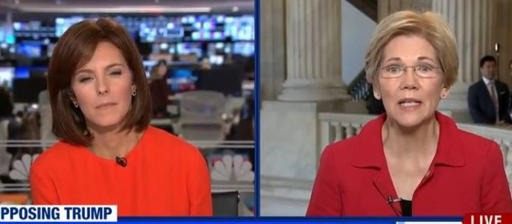 "WOW! ! !  ""MSNBC Live,"" anchor Stephanie Ruhle asked Senator Elizabeth Warren (D-MA),  ""You guys were in power for the last eight years. Why is it that it didn't work for those good Americans you were working for?"""
