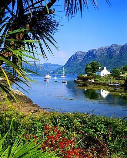 Plockton on Loch Carron, Western Scotland. Gorgeous!