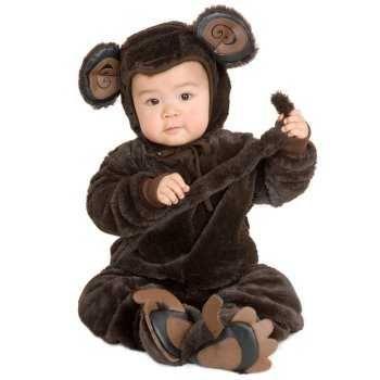 Resultado de imagen para disfraz de bichos niños varon  de 1 año monito