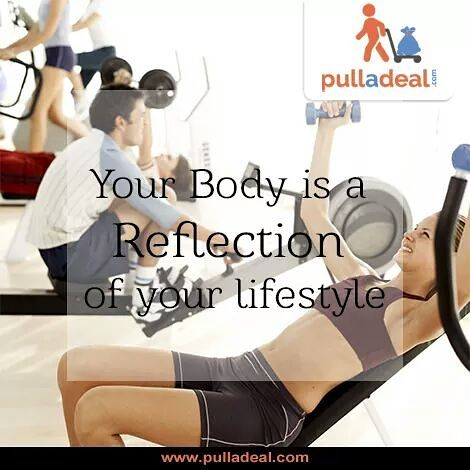 Commit yourself to improve your #Life through #HealthAndFitness by pulling trending #Deals from www.pulladeal.com